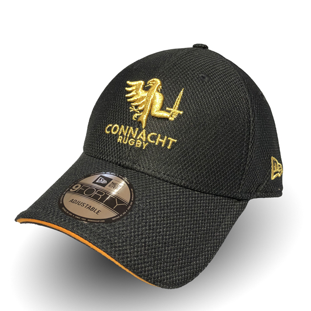 New Era Connacht 20 9Forty Cap Black