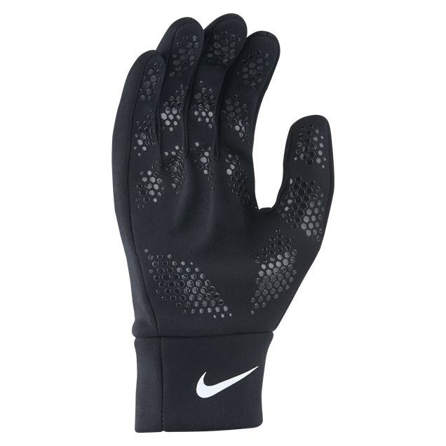 Nike Kids' Hyperwarm Football Gloves Blk