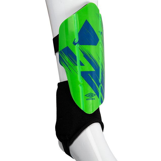 Umbro Neo Flexi Guard W/D Sock, Lime/Royal