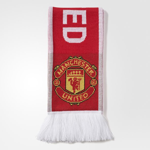 adidas Man Utd 17 Scarf Red