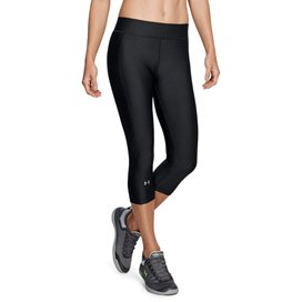 UA HeatGear® Armour Women Capri Black