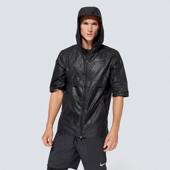 "Nike ""Just Do It"" Shield Men's Jacket, Black"