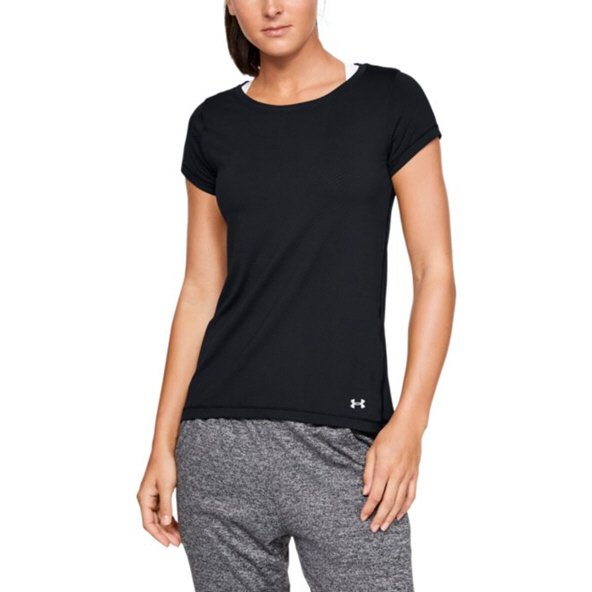 Under Armour® HeatGear® Women's T-Shirt Black