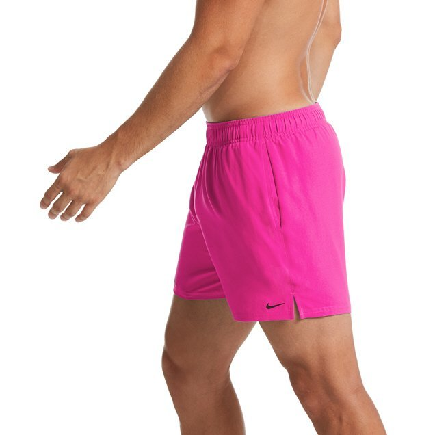 "Nike 5"" Volley Solid Lap Men's Shorts Fuchsia"