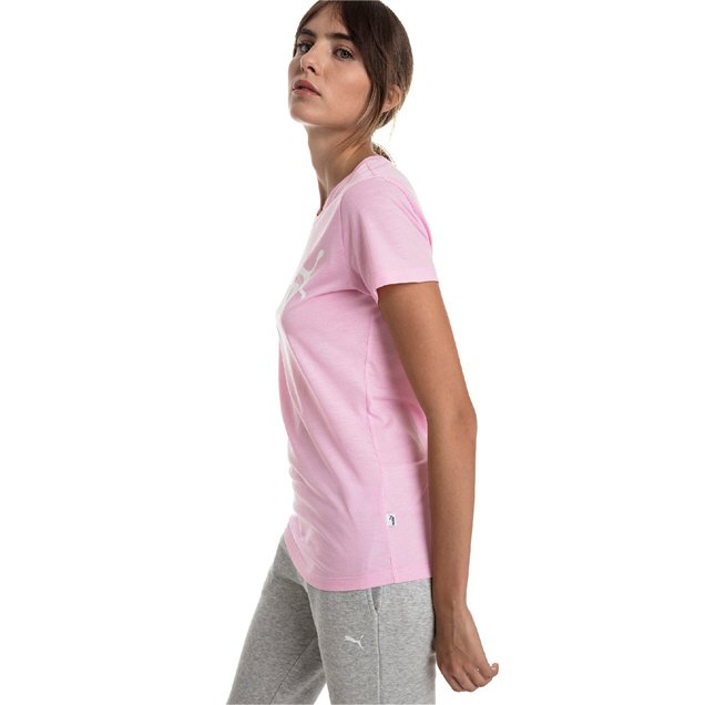 Puma Essentials Logo Women's T-Shirt Pink