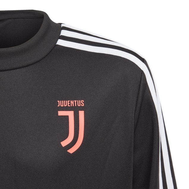 new concept 6ae33 3cb54 adidas Juventus 2019/20 Kids' Training Top, Black | Elverys Site