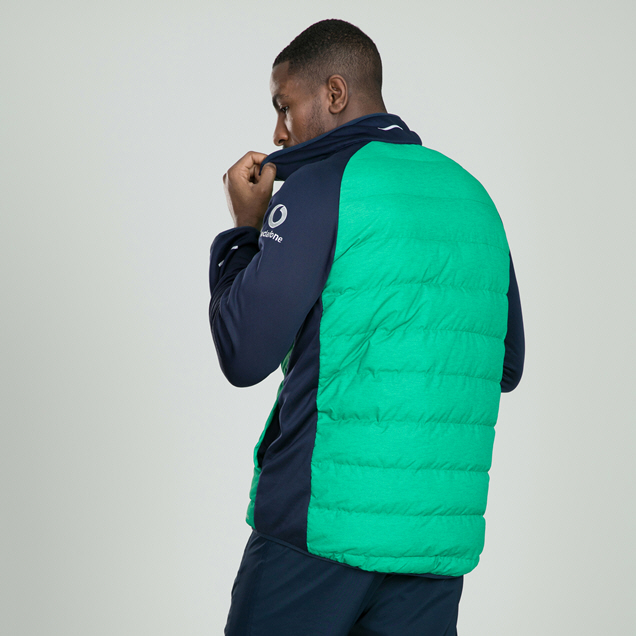 Canterbury IRFU 2019 Hybrid Jacket, Green