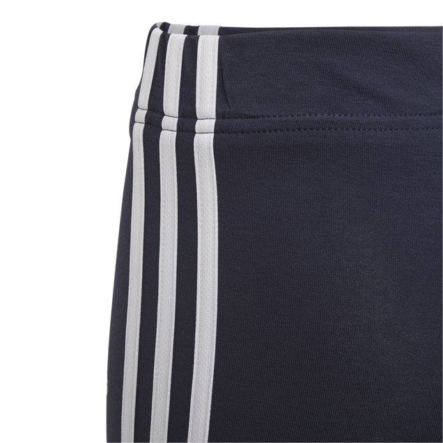 adidas Essentials 3S Girls' Leggings, Navy