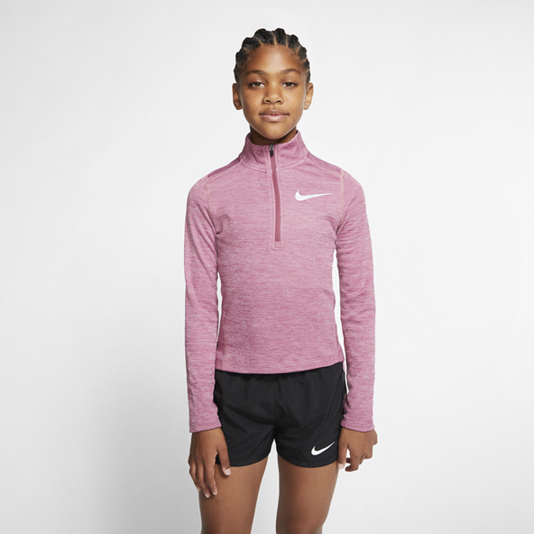 Nike Run HZ Girls LS Top Pink