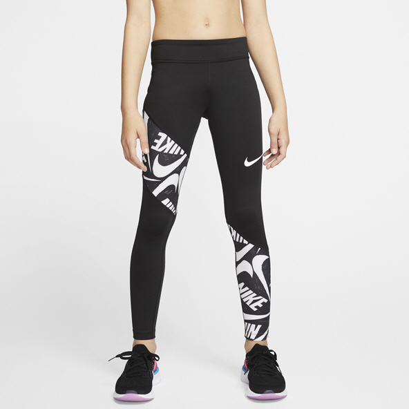 Nike Trophy Girls' Tight, Black