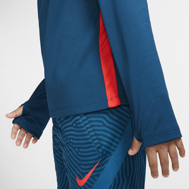 Nike Dry Academy Boys' Drill Top, Blue