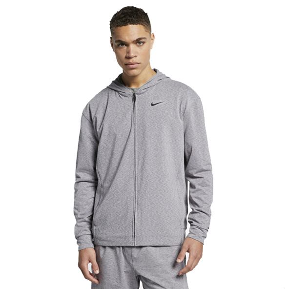 Nike Dry Men's Full Zip Hoody, Grey