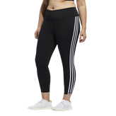 adidas Believe This 3 Stripe Women's 7/8 Tight, Black