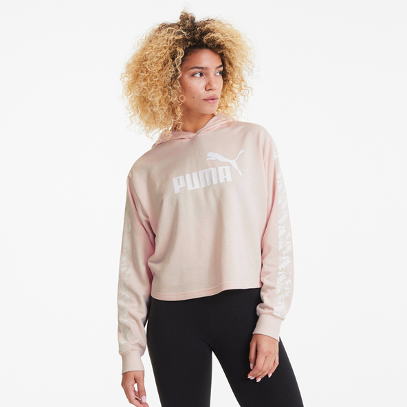 Puma Amplified Cropped Women's Hoody Pink
