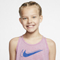 Nike Trophy Girls' Tank Top, Flamingo