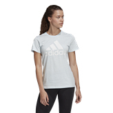 adidas Badge of Sport Women's T-Shirt, Sky Tint