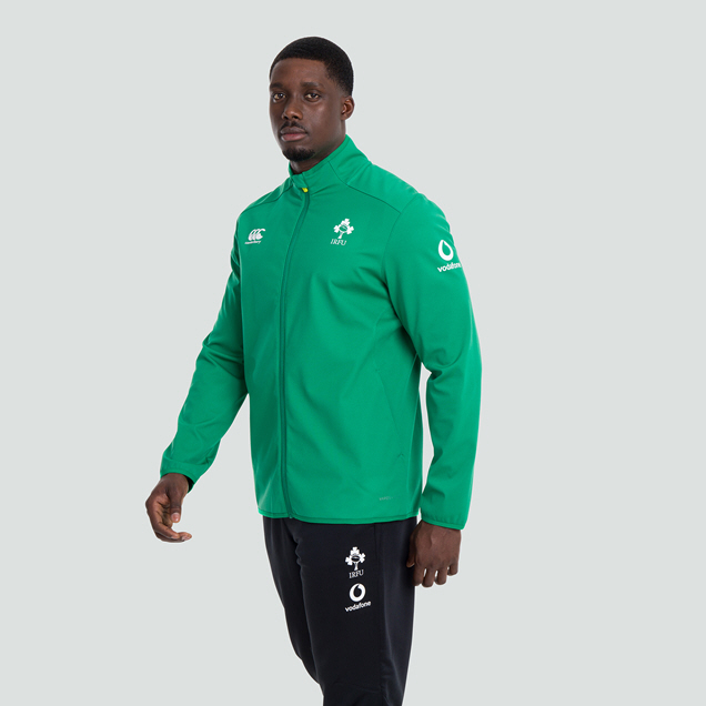 Canterbury IRFU 2020 Softshell Jacket, Green