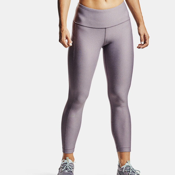 Under Armour HeatGear® Armour Ankle Crop Women's Tight Purple