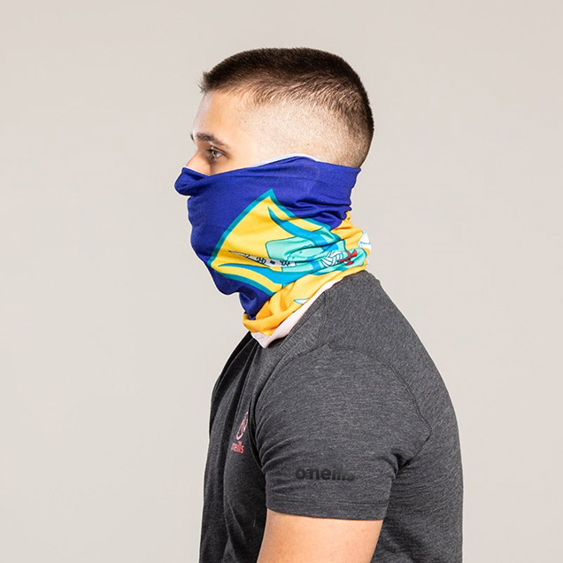 FOCO Wicklow Adult Face Mask, Blue