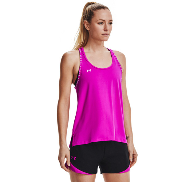 Under Armour Women's Knockout Tank, Pink