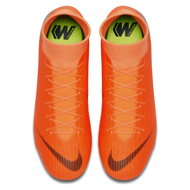 Nike Mercurial Superfly 6 Academy FG Football Boot, Orange