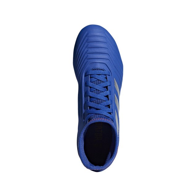 adidas Predator 19.3 FG Kids' Football Boot, Blue