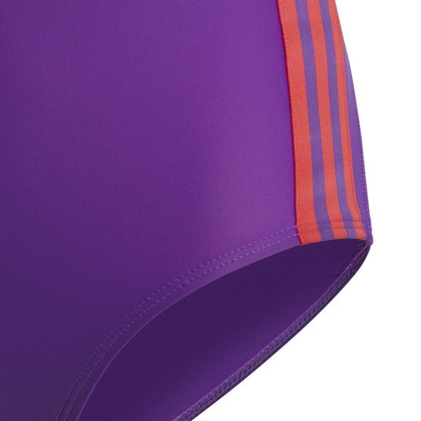 adidas Fit 3S Girls Swimsuit Purple/Red