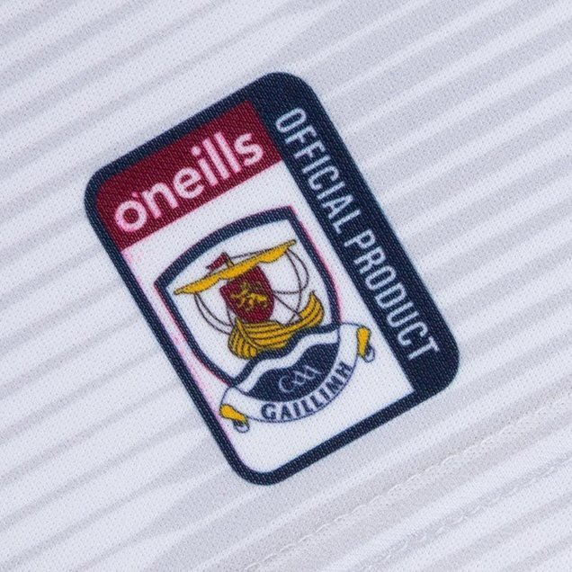 O'Neills Galway 2019 Home Goalkeeper Jersey White