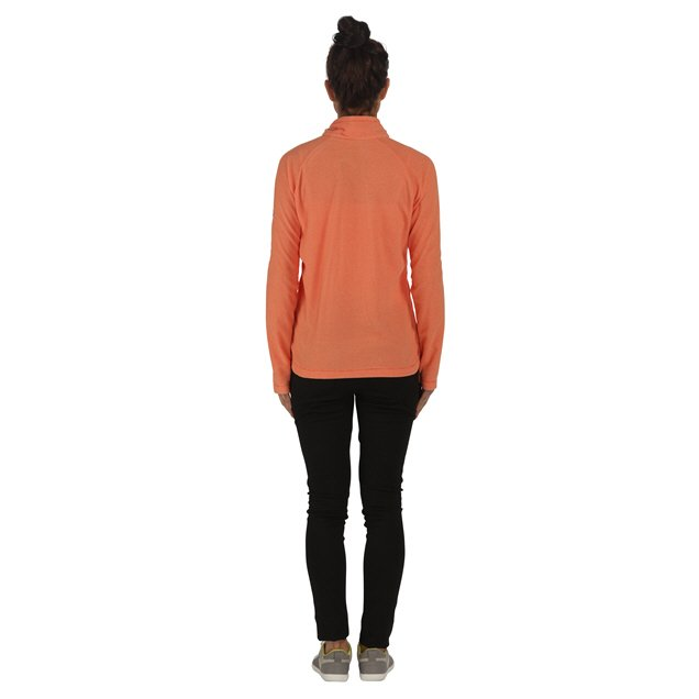 Regatta Montes Women's ¼ Zip Fleece Jacket, Pumpkin