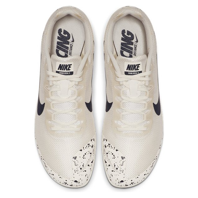 Nike Zoom Rival D 10 Mens Spiked Wht/Blk