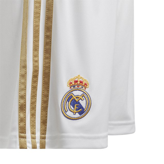 adidas Real Madrid 2019/20 Home Short, White