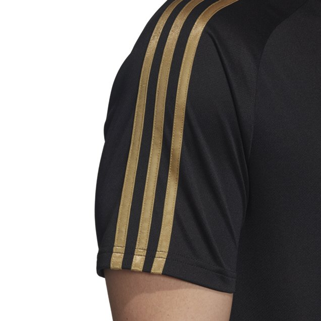 new styles 51e61 900b2 adidas Real Madrid 2019/20 Training Jersey, Black | Elverys Site