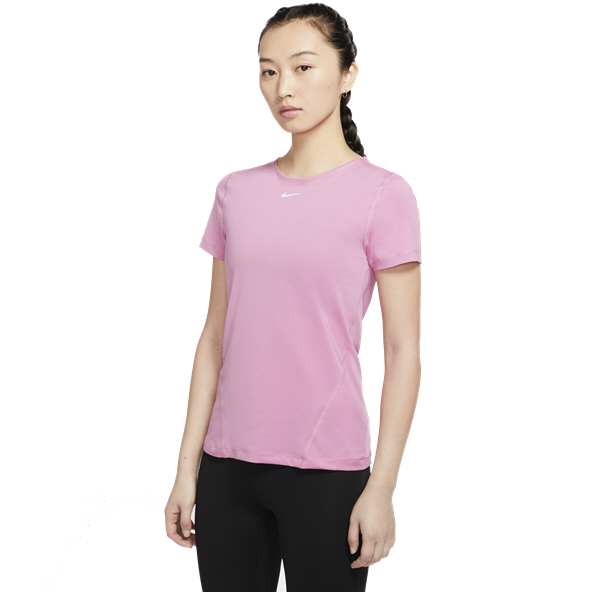 Nike Pro All Over Mesh Women's T-Shirt, Flamingo