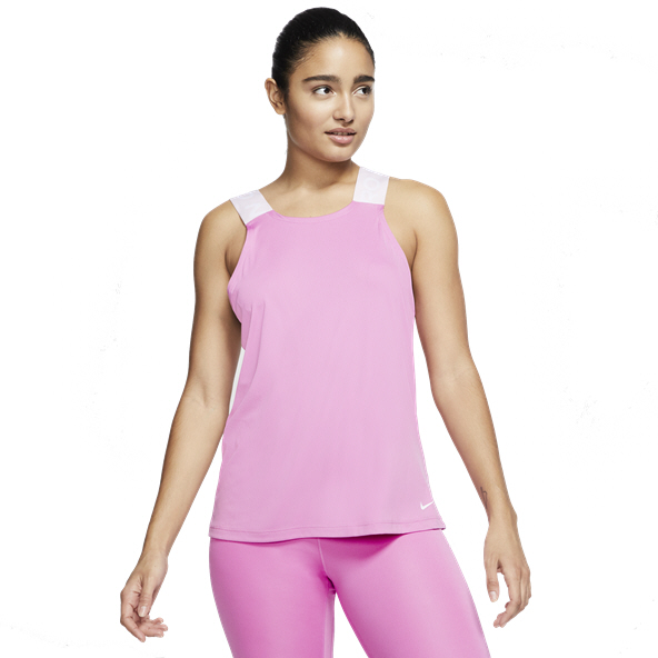 Nike Essential Elastika Women's Tank Top Flamingo