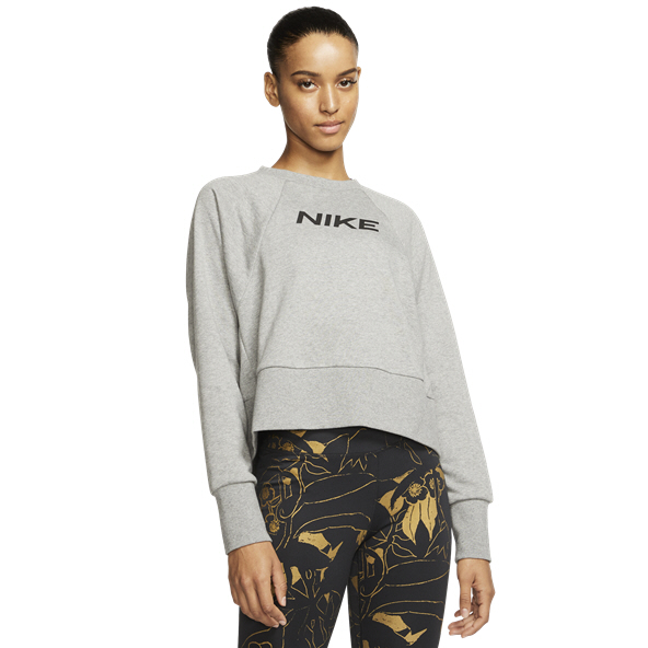 Nike Dry Get Fit Women's Crew Top, Grey