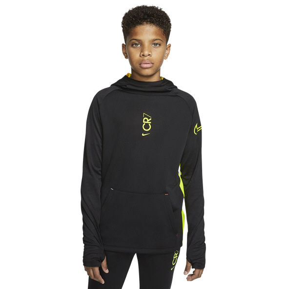 Nike CR7 Dry Boys' Football Hoody, Black