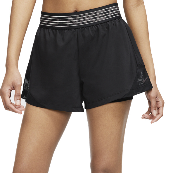 Nike Wmns SLX 2in1 Short Black/Grey