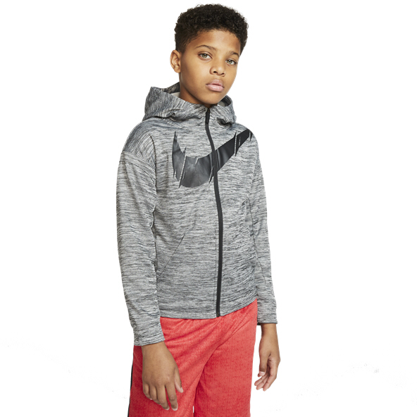 PUMA Boys Boys Tech Fleece Zip Hoodie Hooded Sweatshirt