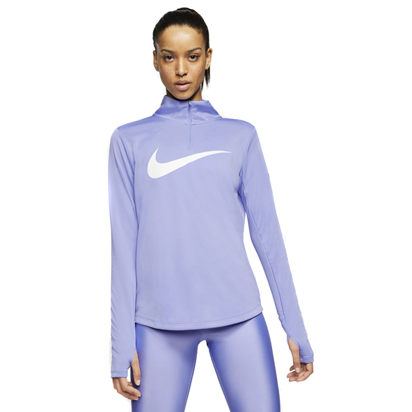 Nike Swoosh Women's ¼-Zip Running Top, Purple