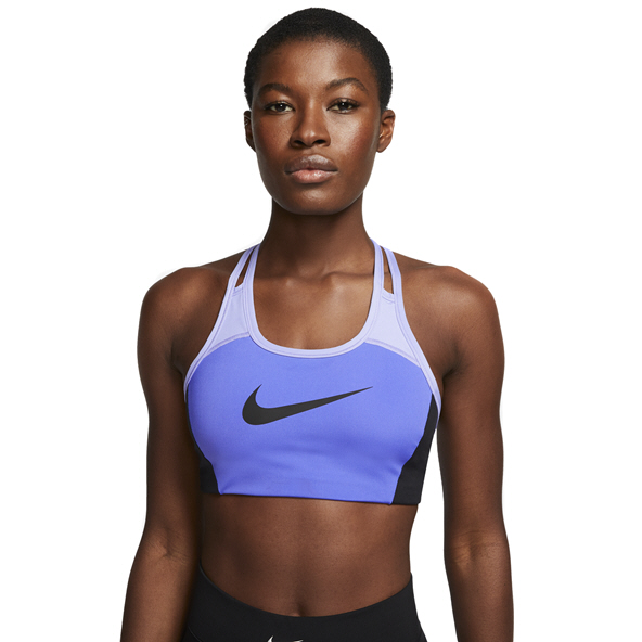 Nike Swoosh Sports Women's Bra, Blue