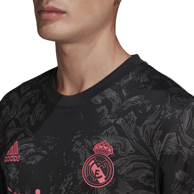 adidas Real Madrid 20 3rd Jersey Black