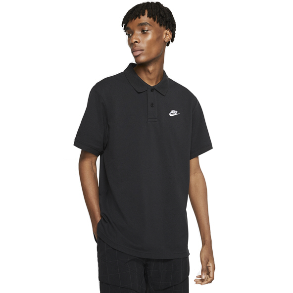 Nike Swoosh Matchup Men's Polo Black/White
