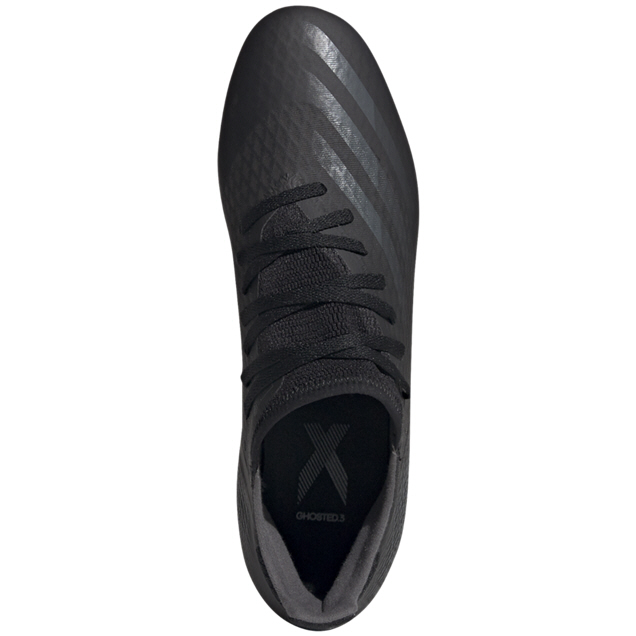 adidas X Ghosted. 3 FG Football Boot, Black
