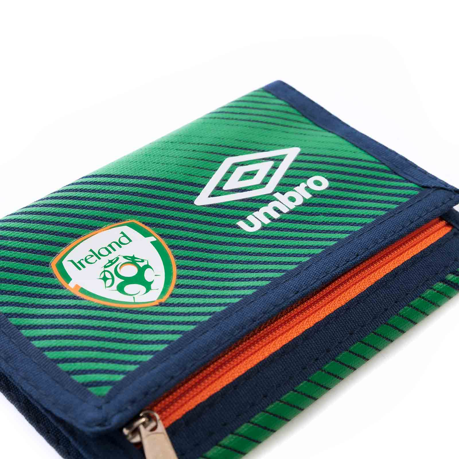 Umbro FAI 21 Wallet Green / Navy