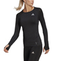 adidas Women's ADI Runner Long Sleeved T-Shirt, Black