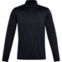 UA Mens Armour Fleece Half Zip Black