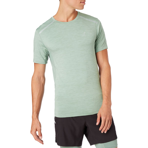 Energetics Aino II Men's Running Top Green