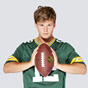 Nike Green Bay Packers Rodgers No.12 Jersey, Green
