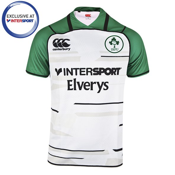 Canterbury IRFU Away 18 7's Jersey White