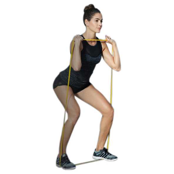 Lets Bands Max Resistance Band - Light, Yellow